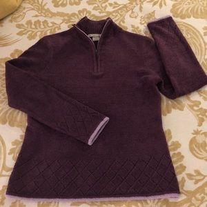 Exofficio 1/4 zip sweater